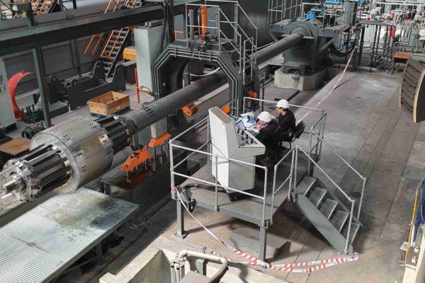 Пусконаладочные работы на трубном производстве