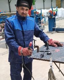 Шайхутдинов Альберт, электрогазосварщик
