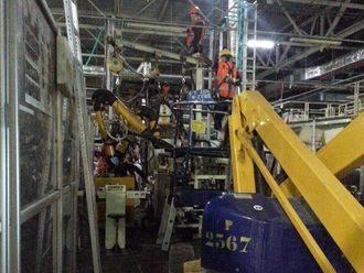 Демонтаж оборудования на заводе ООО «Тойота Мотор»