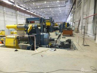 монтаж технологического оборудования на Тихвинском вагоностроительном заводе в Ленинградской области