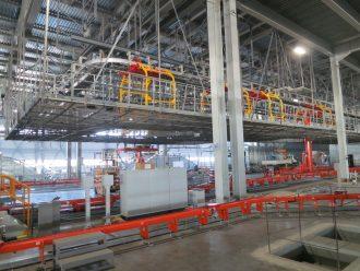 монтаж технологической линии по покраске корпусов автомобилей на заводе «СтавропольАвто»