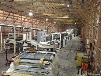 монтаж производственной линии по изготовлению бумажных мешков на заводе Сегежская упаковка в городе Сальск Ростовской области