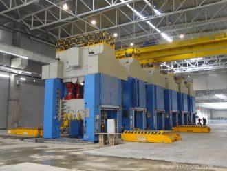 монтаж 2 прессовых линий на заводе Gestamp Северсталь в Калуге